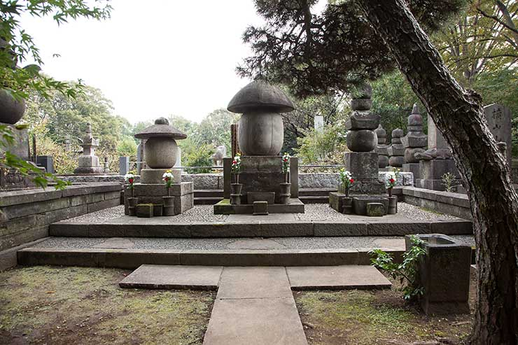 小堀家のお墓 広徳禅寺